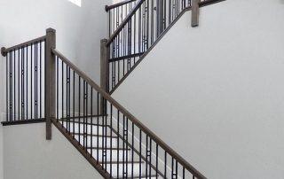 Lakatos Munkák lépcső, korlát referencia 14
