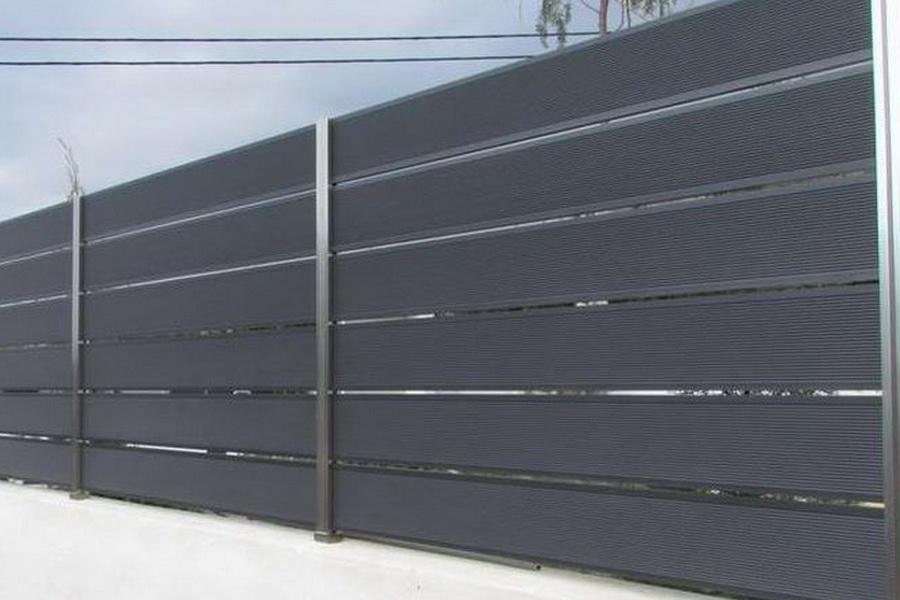 WPC kerítés és oszlop referencia 7