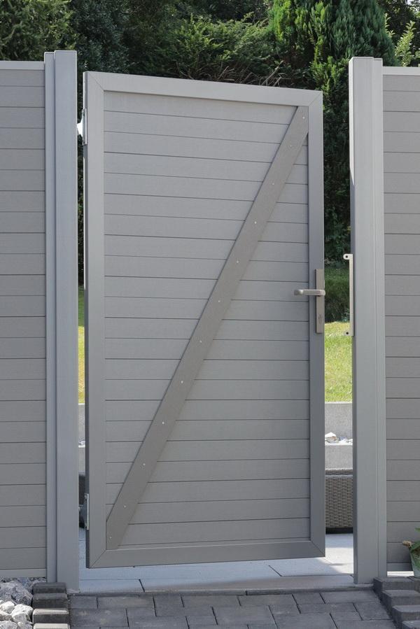 WPC kerítés és ajtó referencia